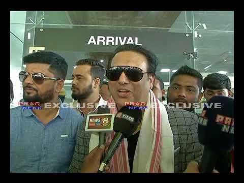 Bollywood Superstar GOVINDA In Guwahati