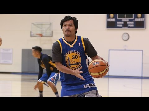 Manny Pacquiao's Warriors Visit