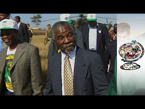Mbeki's Early Days Leading The ANC (1999)