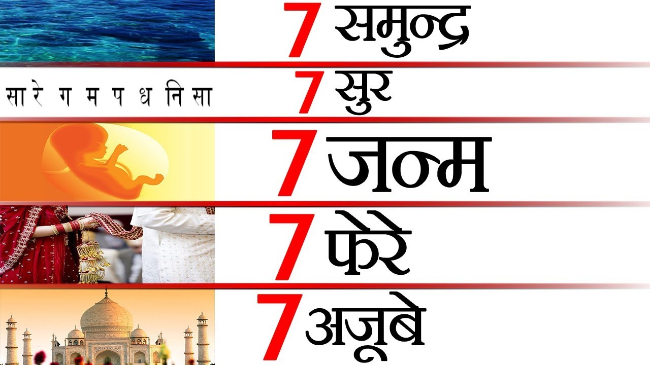 नंबर 7 क्यों है खास ? Science and Facts About Number 7 and Various Random  Facts - TEF Ep 26