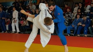 Judo competitions among men