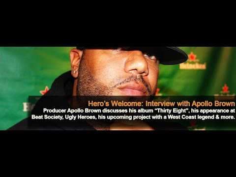 Apollo Brown (@ApolloBrown) Interview with Embassy: Interactive