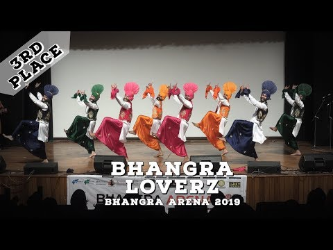 Bhangra Loverz – Third Place Live Category – Bhangra Arena 2019
