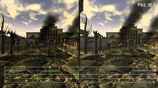Fallout: New Vegas PS3/360 Gameplay Frame-Rate Comparison