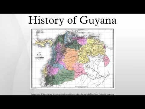 History of Guyana