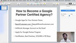 How to Become a Google AdWords Certified Agency (and Get a Partner Badge)
