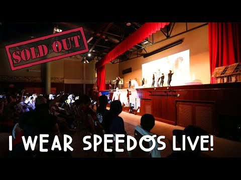 "SOLD OUT ""I WEAR SPEEDOS"" LIVE! 
