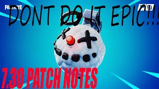 Fortnite 7.30 Notes de patch -Editing other players builds Fortnite 7.30 Patch Notes