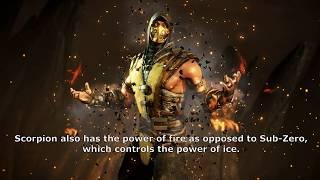Mortal Kombat X Scorpion character history and strengths