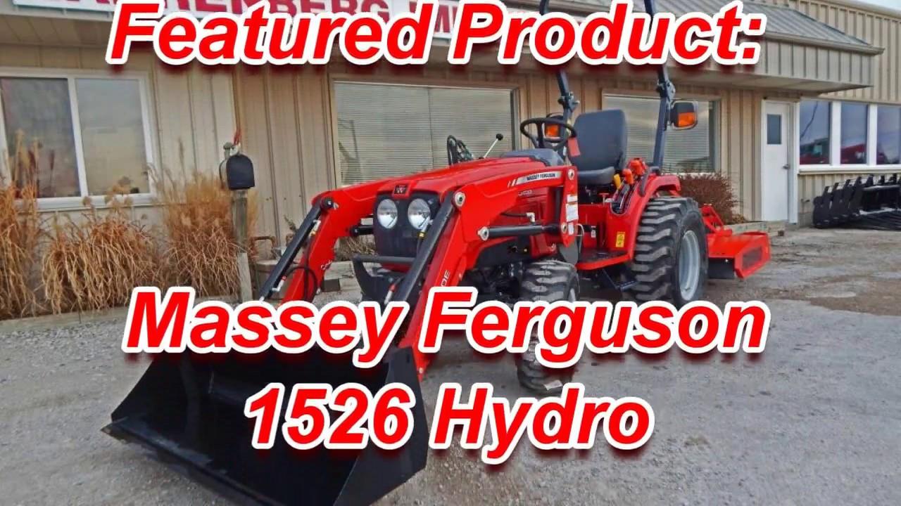 Massey Ferguson 1526 Farm Tractor   Massey Ferguson Farm
