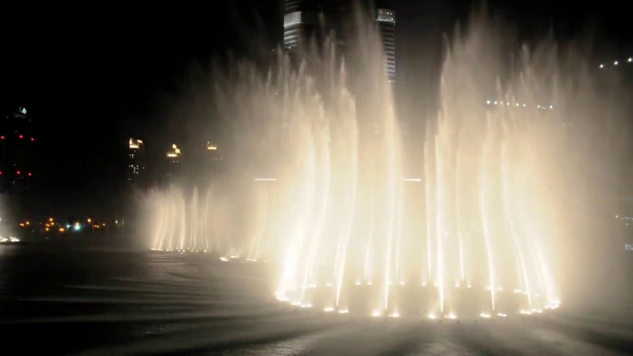 Giochi D Acqua.Dubai Giochi D Acqua Al Burj Khalifa Lake Water Show