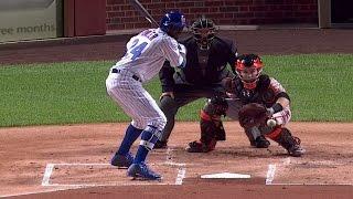 Плей-офф MLB. Полуфинал Национальной Лиги: Чикаго Кабз - Сан-Франциско Джайнтс. Матч 1 (7.10.2016)