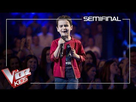 Daniel García Canta 'El Mundo' | Semifinal | La Voz Kids Antena 3 2019