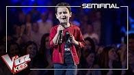 Daniel García - El mundo | Semi final | The Voice Kids Antena 3 2019