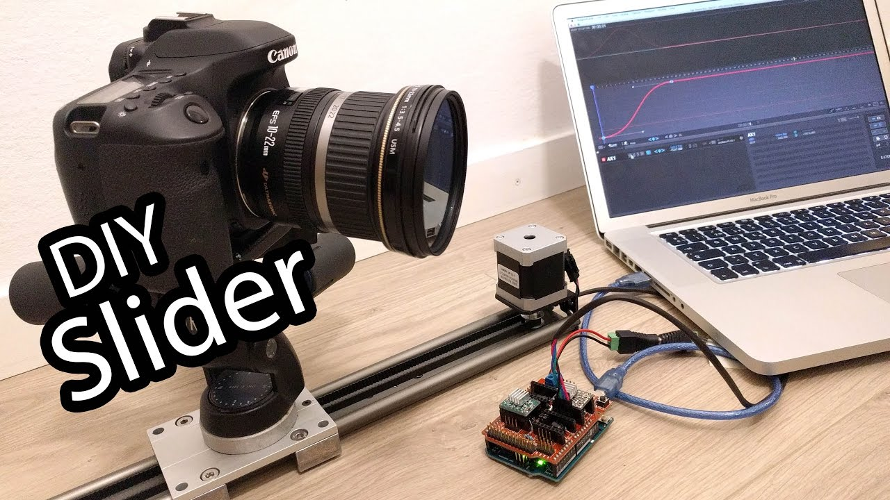 Diy Arduino Camera Slider For Professional Timelapse And