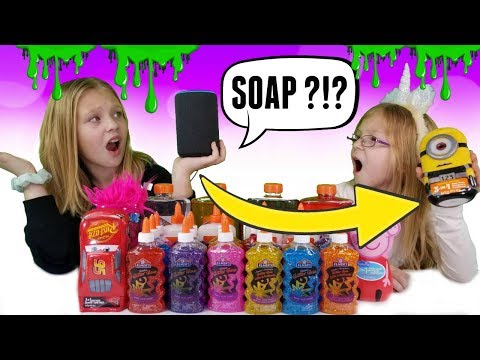 ALEXA Picks My SLIME Ingredients SWITCH UP Challenge