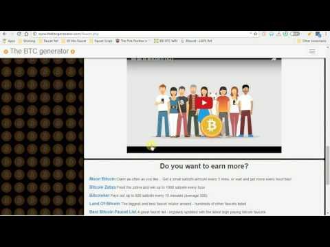 thebtcgenerator.com - Bitcoin scam site Part 1 - Faucet claim Untrustworthy