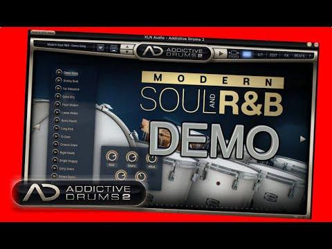 MODERN Soul and R&B ADpak Demo - Addictive Drums 2 - XLN audio