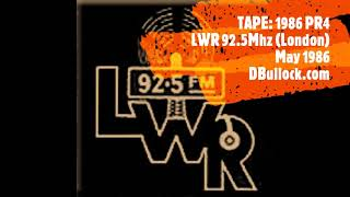 [1986- PR4] LWR ~ London Wide Radio ~ May 1986 ~ London Pirate Radio