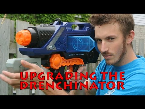 Building the DRENCHINATOR (The Super-Super Soaker)