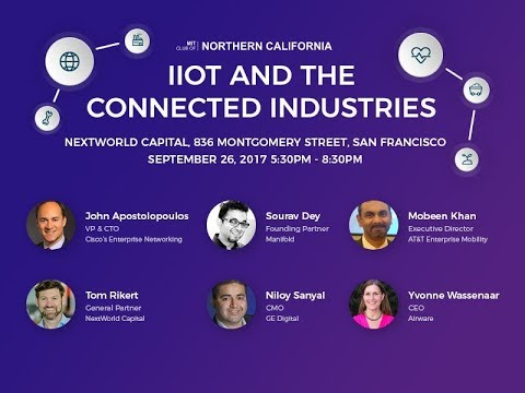 IIoT and the Connected Industries - Panels