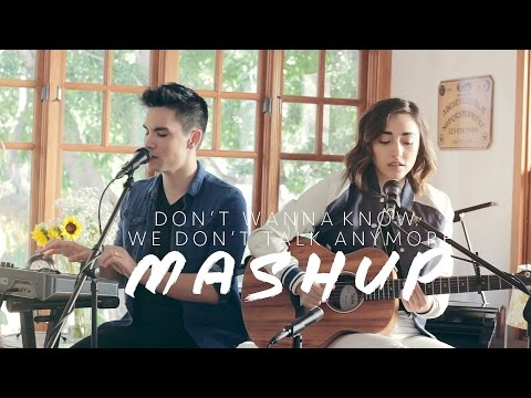 Don't Wanna Know/We Don't Talk Anymore MASHUP - Sam Tsui & Alex G | Sam Tsui