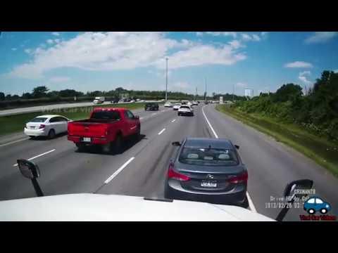 semi-trucks-and-cars-brake-checked---insurance-scam,-rage-or-no-reason?-#5