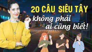 20 CÂU TIẾNG ANH GIAO TIẾP THÔNG DỤNG TÂY DÙNG HÀNG NGÀY - Học tiếng Anh Online (Trực tuyến)