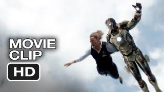 Iron Man 3 Movie CLIP - Plane Trouble (2013) - Robert Downey Jr. Superhero Movie HD