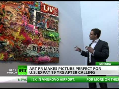Art PR makes picture perfect for US expat