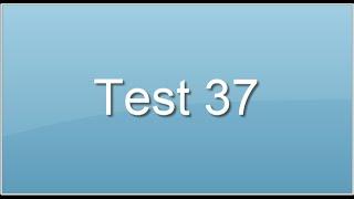 test. 37. Capacité déductive verbale