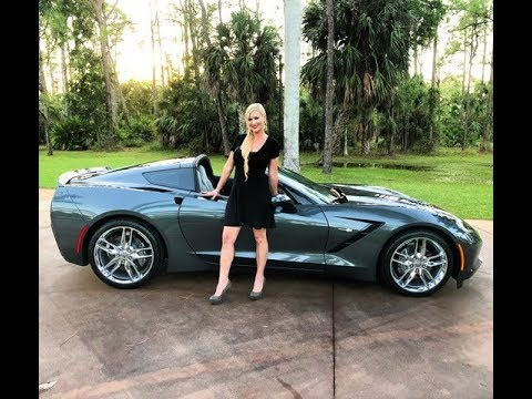 2017 Corvette Stingray 3LT Coupe Review w/MaryAnn For Sale by:AutoHaus of  Naples