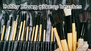 Bobby Brown makeup brushes ----Review