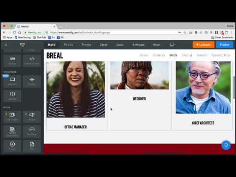 How to Use Weebly Editor Edit a Page