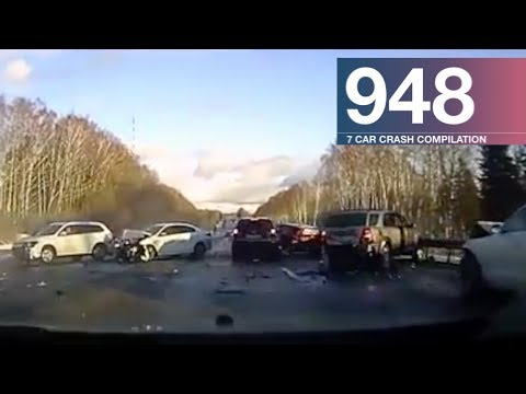 Car Crash Compilation 948 - January 2018