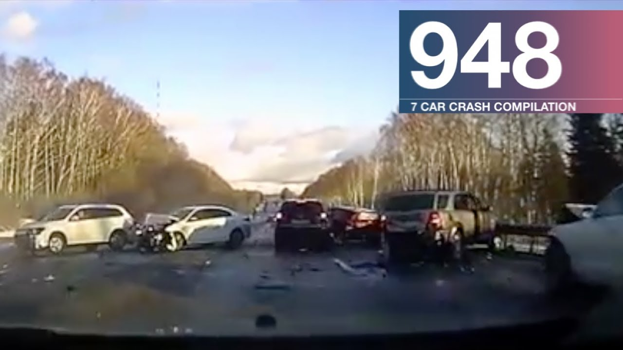 Car Crash Compilation 948 – January 2018