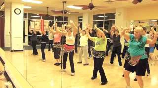 """Shake Your Groove Thing"" disco/cha cha Zumba Gold"