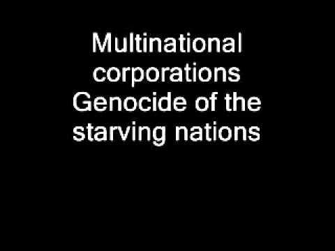 Napalm Death Multinational Corporations with lyrics