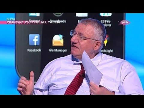 Војислав Шешељ у емисији 'Хит Твит' на РТВ Пинк.