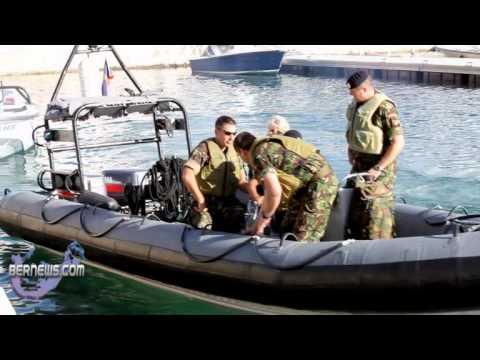 Duchess Tours w/ Bermuda Regiment Boat Troop
