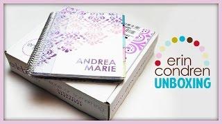 Erin Condren 2014-15 Life Planner Unboxing ♡ Thumbnail