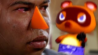 When you forgot to pay your debt to Tom Nook