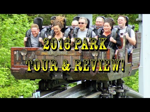 Dollywood 2016 Park Tour