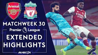 Arsenal v. Liverpool | PREMIER LEAGUE HIGHLIGHTS | 4/3/2021 | NBC Sports