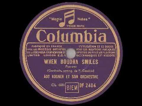 Ady Rosner: WHEN BOUDHA SMILES (1938)