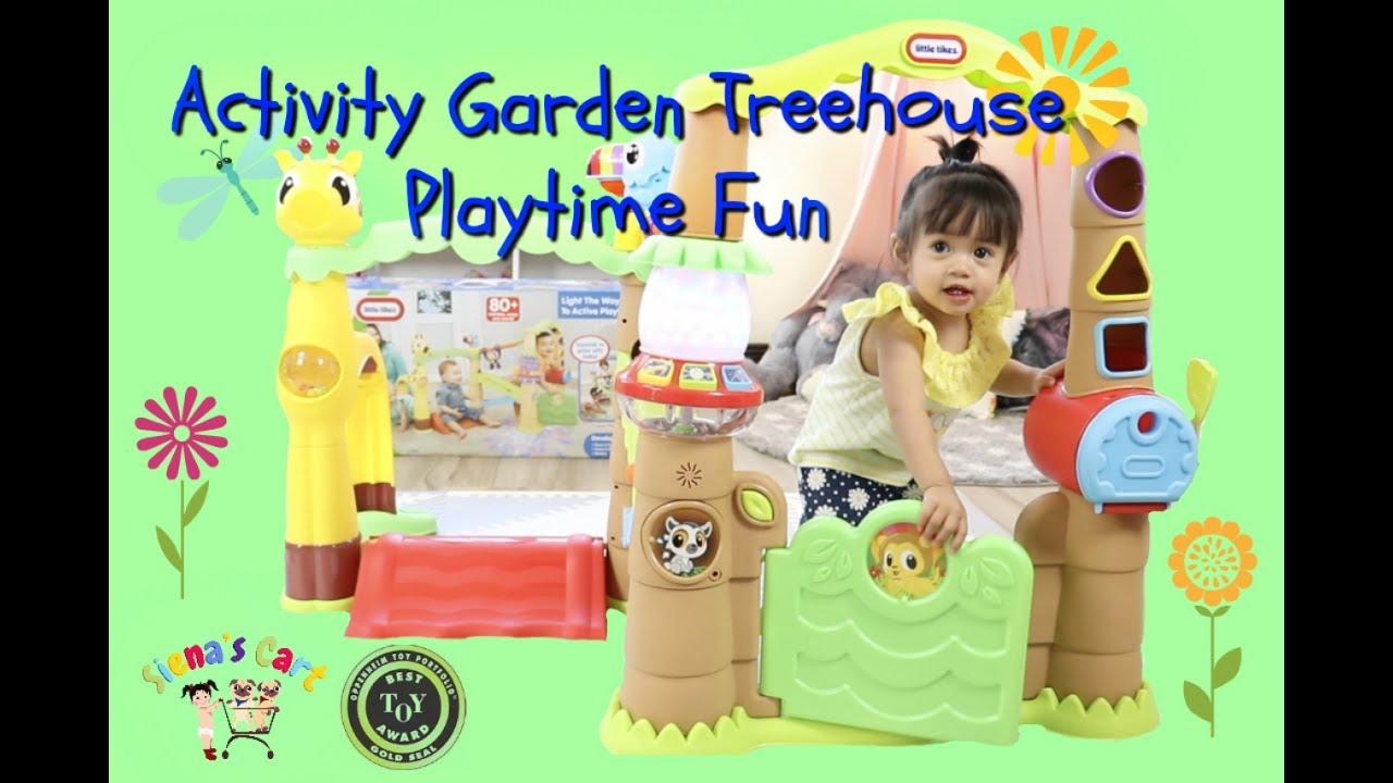 Little Tikes Light N Go Activity Garden Treehouse Unboxing Something S Missing Youtube