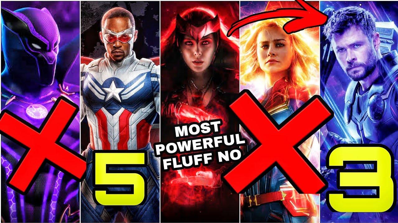 Top 10 Most Powerful Avenger [2021 UPDATED LIST] SUPERBATTLE