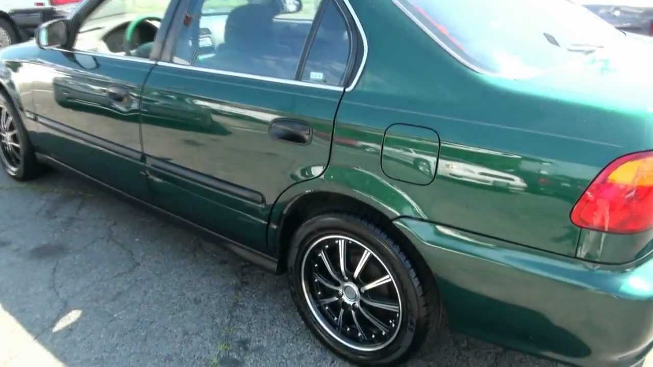 Ek Civic 4 Door Fl F S F T 96 Ek Civic Sedan Stanced Hella