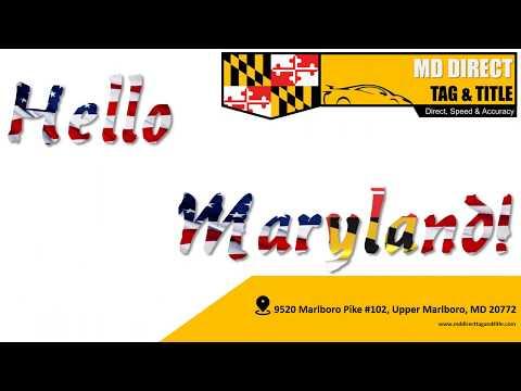 Hello Maryland!!