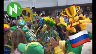 World Cup fever - Fans from across the world descend on Russia for the big kick off